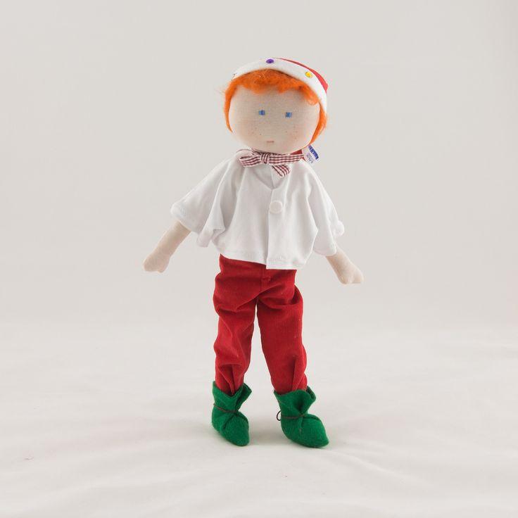 Lutin de Noel en tissu deux en un... : Jeux, jouets par timounalily
