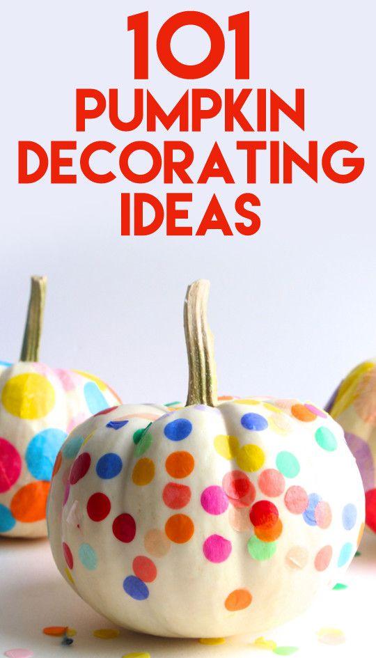 101 Fabulous Pumpkin Decorating Ideas