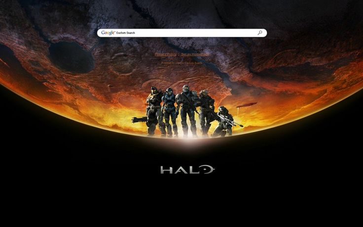 Halo Theme from ShinySearch