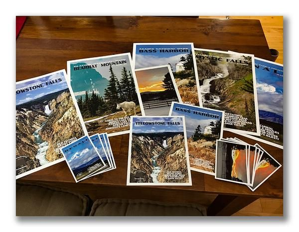 Custom Posters and Postcards from Just Go Travel Studios