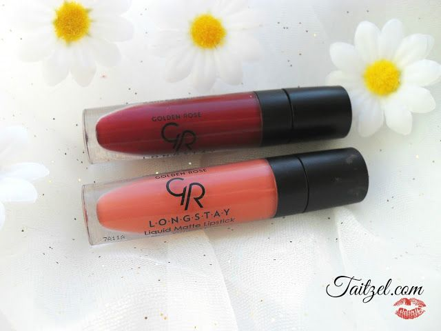 Golden Rose Longstay Liquid Matte Lipstick 15, 16