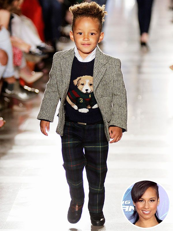 Alicia Keys's Son Egypt Makes His Modeling Debut