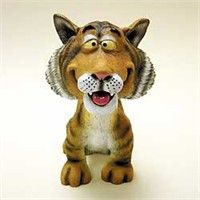 Tiger Bobble Head: Nothing beats the exceptional look and quality of our Tiger Bobble Head. Among the… #PetProducts #PetGifts #AnimalJewelry