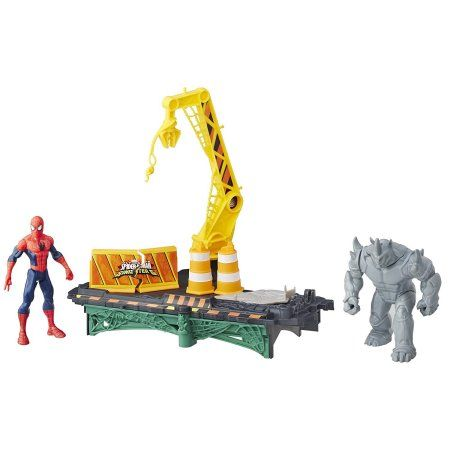 Marvel Ultimate Spider-Man VS Sinister 6 Rhino Rampage Play Set - Age 4+ Toys