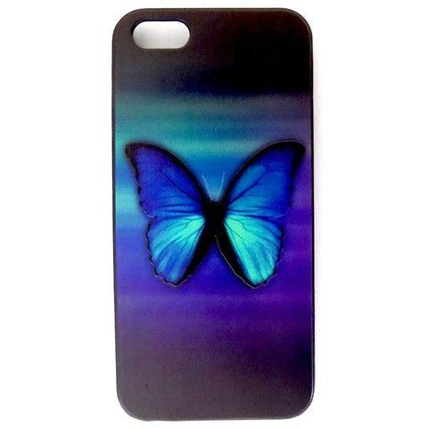 Butterfly Design Hard Back Case Cover for Apple iPhone 5 5s – Bracevor