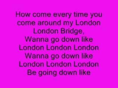Fergie - London Bridge (Oh Snap) (+lista de reproducción)