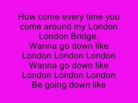Fergie - London Bridge (Oh Snap) (+lista de reproducción)