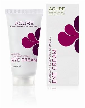 Acure Eye Cream helps reduce puffiness, dark circles and the appearance of fine lines with certified organic ingredients. Get your hands on it at Hello Charlie.