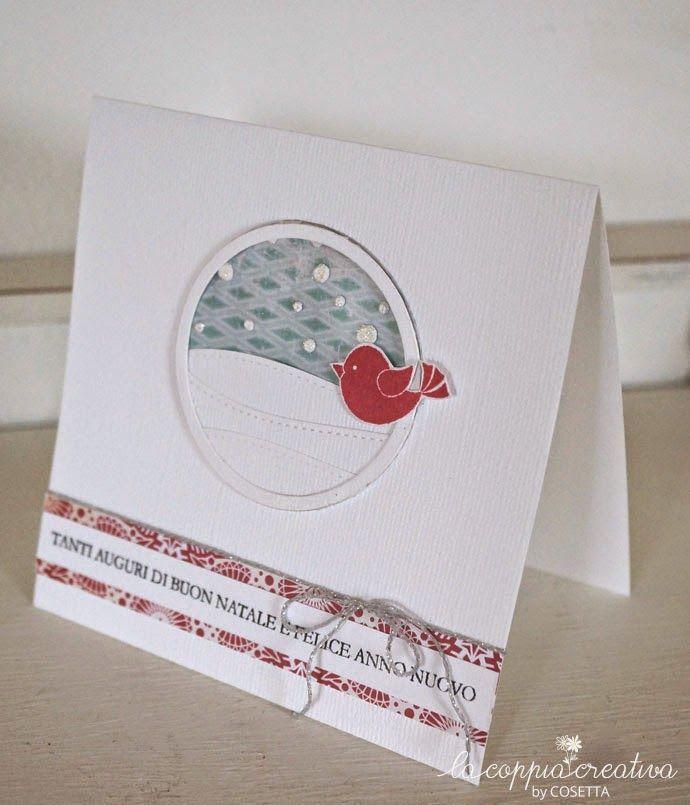 Un uccellino sulla neve per Natale - Cosetta