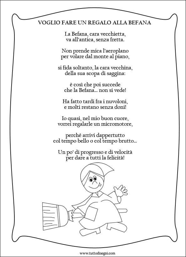 Poesia sulla Befana