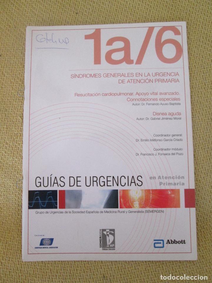 SINDROMES GENERALES EN LA URGENCIA DE ATENCION PRIMARIA 1A/6