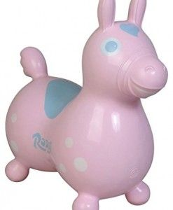 Gymnic-Rody-Inflatable-Hopping-Horse-Baby-Pink #outdoor toys #outdoor toys for kids #kids outdoor toys #outdoor kids toys #outdoor toys for toddlers #toddler outdoor toys #ride on toys for toddlers #kids ride on toys
