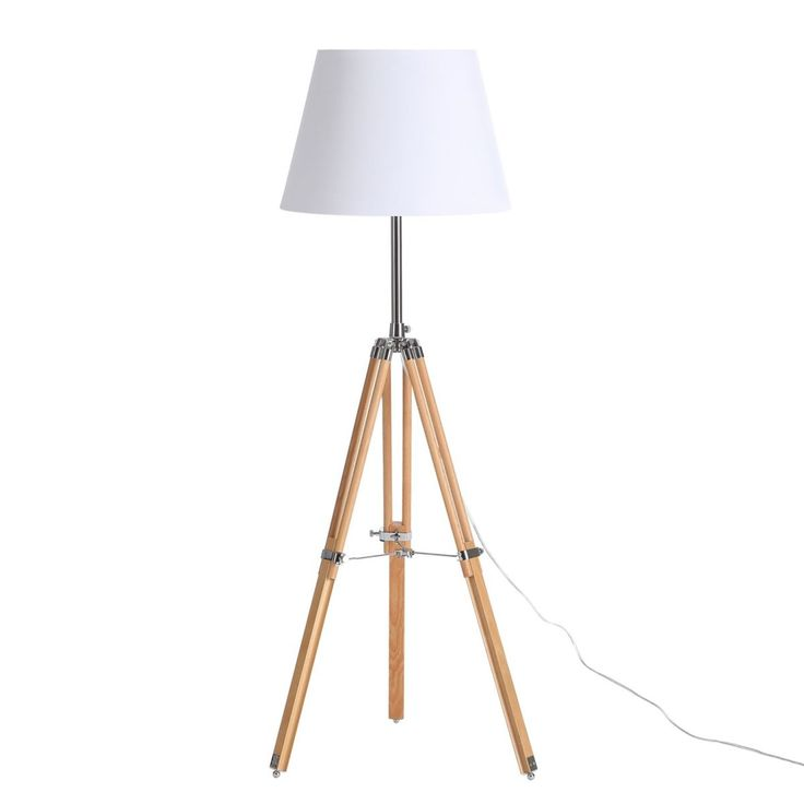 EEK A++, Stehleuchte Tripod Trylith   Holz/Stoff   1 Flammig, Loistaa Jetzt  Bestellen Unter: Https://moebel.ladendirekt.de/lampen/stehlampen/standleuchten/?  ...