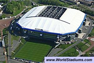 First game Auf Schalke - May 11, 2013. Veltins Arena (Arena Auf Schalke), Schalke 04
