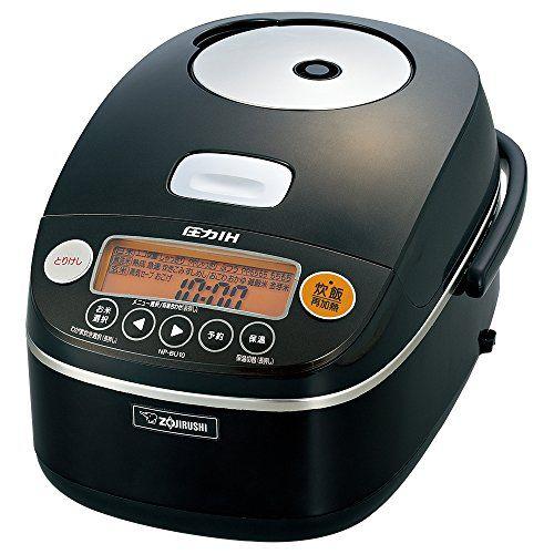 ZOJIRUSHI IH Pressure Rice Cooker 5.5 Cups Black NP-BU10-BA