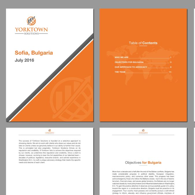 Create business proposal word template for Washington DC lobbying firm (in .docx format) by MS Templates