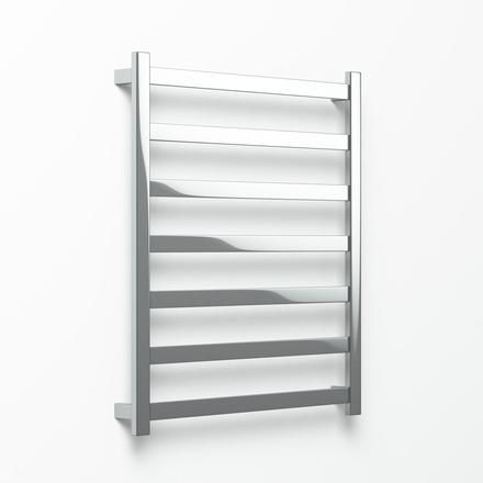 The Hybrid Heated Towel Rail in Mirror Polished Stainless Steel.  Minimalism & Simplicity For the Modern   Luxury Bathroom.   -  Wide Range of Sizes and Finished Available!  -  Avenir Bathroomware  Crafted in AU