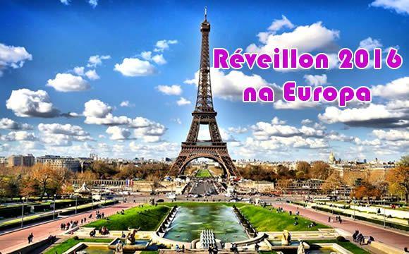 Reveillon 2016 na Europa - Seu ano novo com voos baratos #reveillon2016 #anonovo #europa