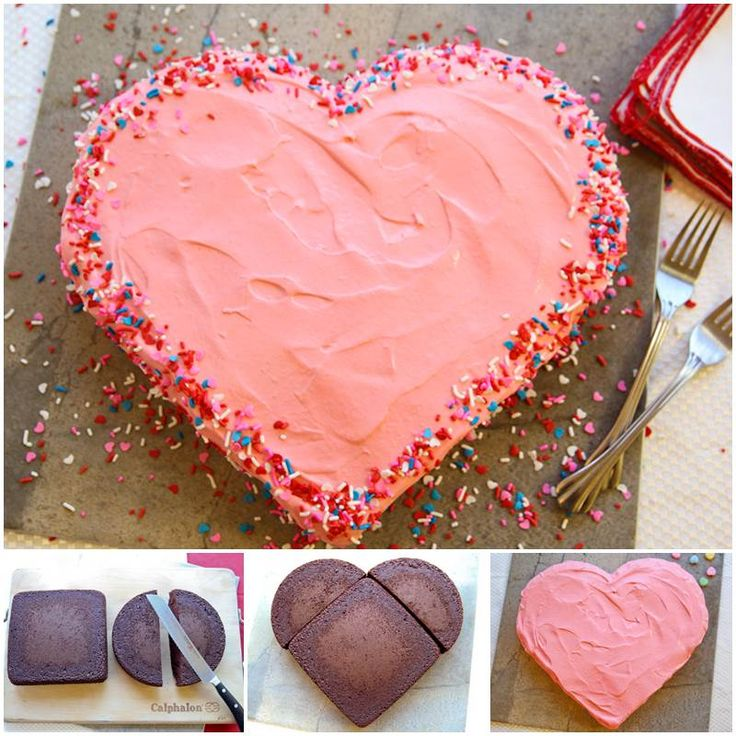 17 best ideas about heart shaped cakes on pinterest for Heart shaped decorations home