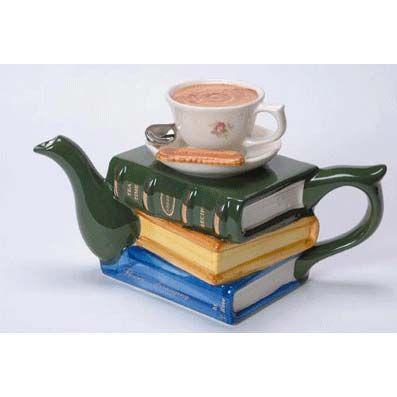 Teapot »Books & Tea«