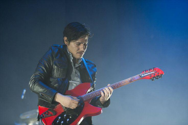 Sergio Acosta - Zoé en el Rock en EXA, 2013