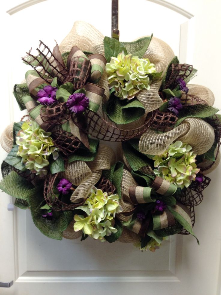 1658 best images about Spring and Summer Deco Mesh Wreaths