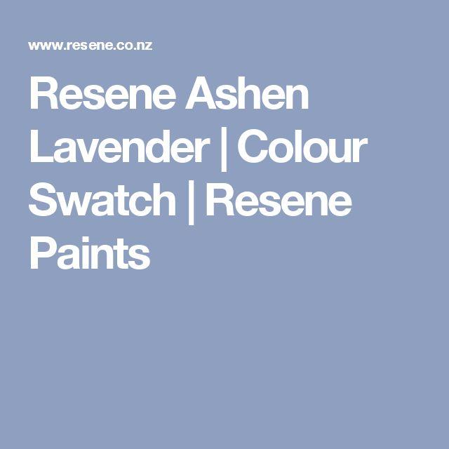 Resene Ashen Lavender | Colour Swatch | Resene Paints