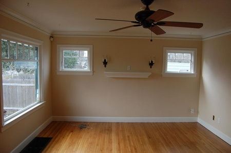 benjamin moore blanched coral in a north facing room. Black Bedroom Furniture Sets. Home Design Ideas