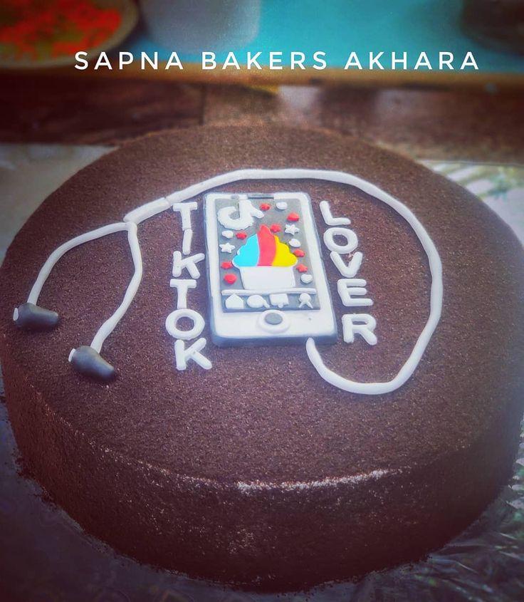 Tiktok cake #instacakes #cakesofinstagram #instacake #cakestagram #cakesbae
