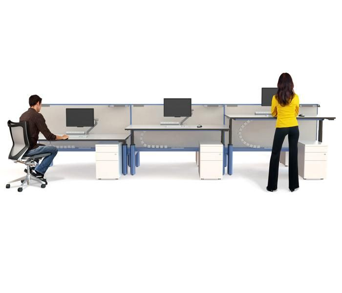Paradigm Sit Stand | UCI Electric height-adjust workstation and desk system. Australian designed and manufactured. GECA Certified. AFRDI Blue Tick certified. uci.com.au