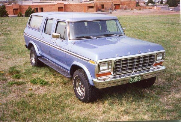 78-79 custom 4 door bronco