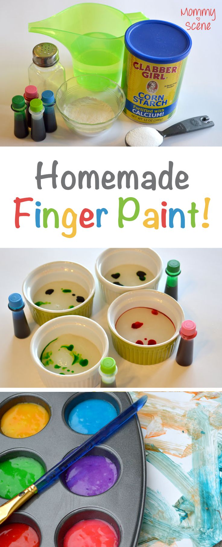 fun and easy homemade finger paint your kids will love