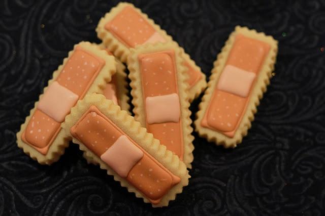 bandaid medical cookies