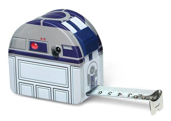 Galaxy Fantasy: R2-D2 puede servir como instrumento de medida para tus manualidades