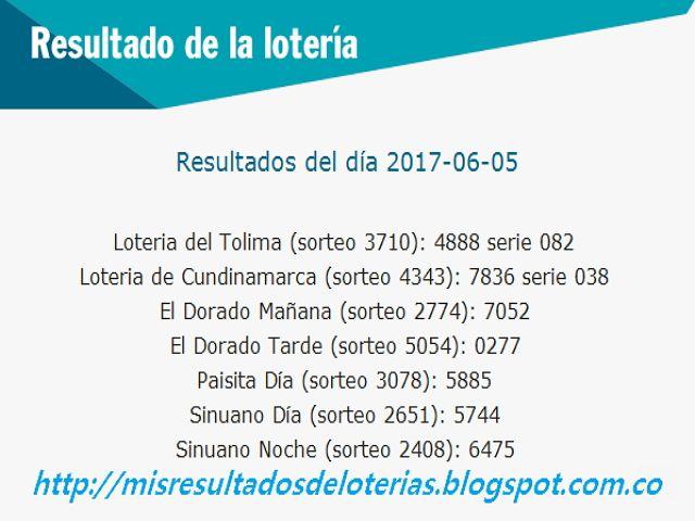 """Resultado de la Lotería: """"Últimos resultados de las loterías - Que numero j..."""