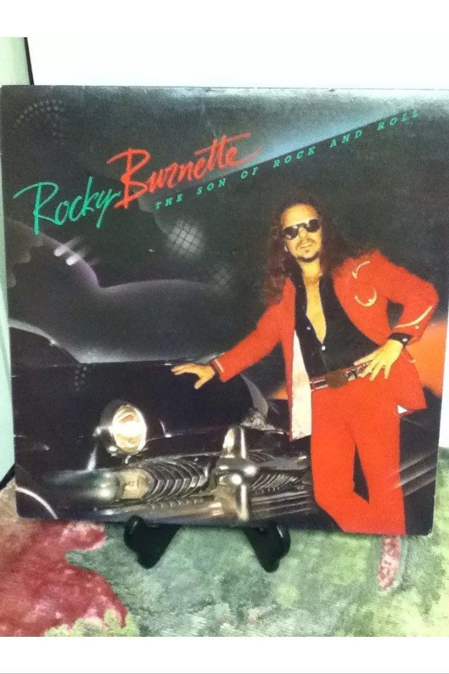 Rocky Burnette Son Of Rock & Roll 12 inch Vinyl Record
