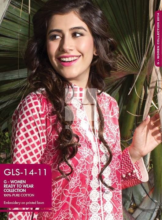 Gul Ahmed Ready to Wear Dresses for Summer 2014
