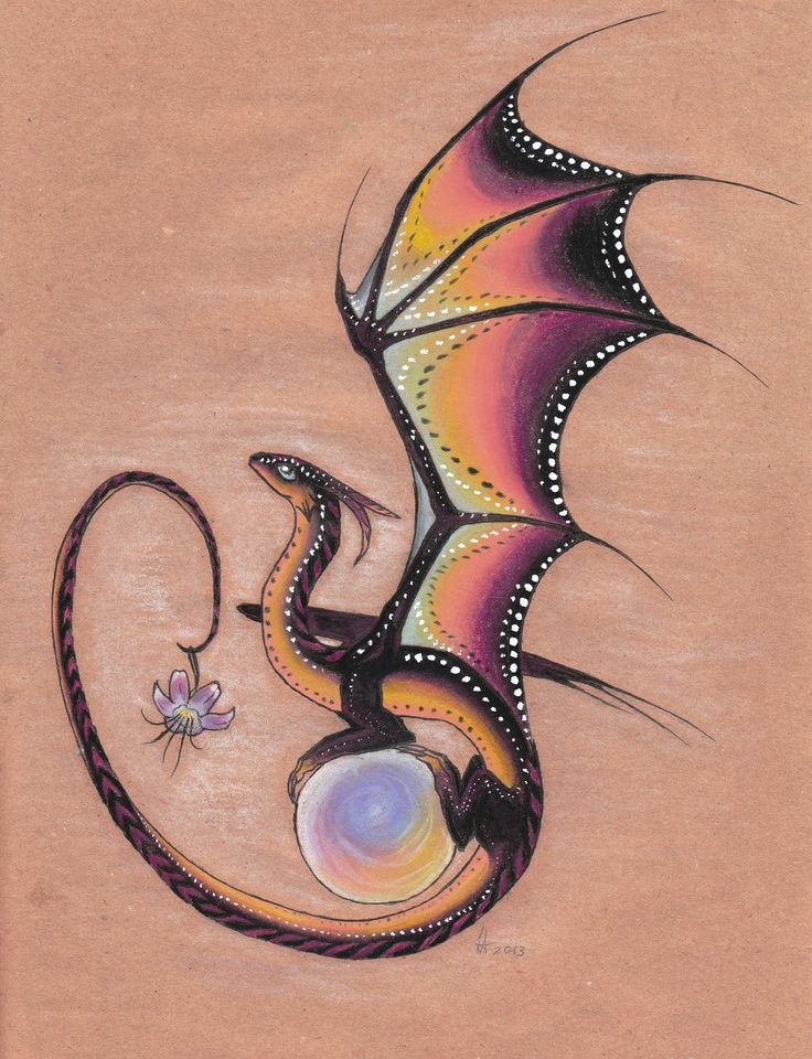 Twilight Dragon - I want to get a dragon tattoo, and I'm searching for the perfect one :)