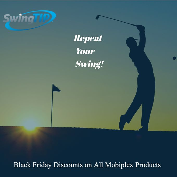 Use Coupon Codes #BF25 #BF50 for Big Discounts on Swingtip Device & Accessories.  The most used golf swing analyzer, now available on several retail sites. #amazon #shopify #mobiplex #swingtipgolf  #golf #golftech @MobiPlex @SwingTipGolf #golftips http://ow.ly/U3ht30gMvKf