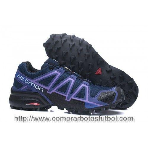 Venta Zapatillas Salomon Speedcross 4 GTX Hombre Azul Oscuro ...
