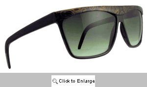 Paisley Straight Bridge Sunglasses - 193 Black