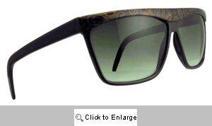 Paisley Straight Bridge Sunglasses - 193 Black