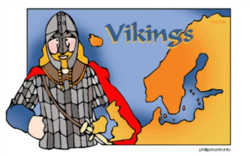 Great facts about the Vikings with a Viking Poem too for learning the facts!