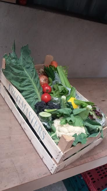 Our voluptuous vegetable and salad box could be making its way to you! Make sure you have ordered from our website flavourfirst.com