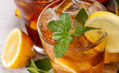 Herkulliset juomat joilla pysyt hoikkana  > Minttuinen jäätee