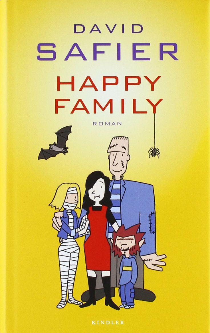 Familie Wünschmann ist nicht happy. Mama Emmas Buchladen geht pleite, Papa Frank ist völlig überarbeitet, die pubertierende Fee bleibt sitzen, und Sohnemann Max wird von dem Mädchen, das er liebt, ins Schulklo getunkt. Zu allem Überfluss werden die Wünschmanns nach einem Kostümfest auch noch von einer Hexe verzaubert: Plötzlich sind sie Vampir, Frankensteins Monster, Mumie und Werwolf http://www.rowohlt.de/buch/David_Safier_Happy_Family.2938953.html