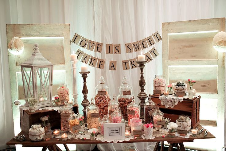 Lolly Buffet Vintage Theme