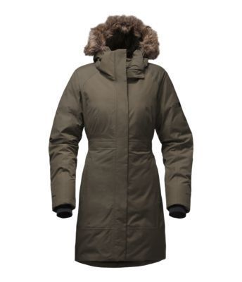 Make tracks and set trends in this weatherproof, 550-fill down insulation parka that's designed to deflect rain, wind, sleet and snow all winter long. Darting and elastic at the waist create a flattering shape for warmth without weight.
