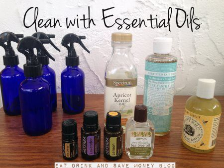 Clean with essential oils, DIY baby wipes solution, DIY baby oil, DIY all purpose cleaning spray