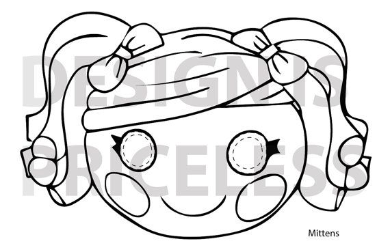 print your own lalaloopsy color and cut masks for a sew cute touch includes 6 pages of masks crumbs sugar cookie dot starlight pinterest lalal - Lalaloopsy Coloring Pages Mittens